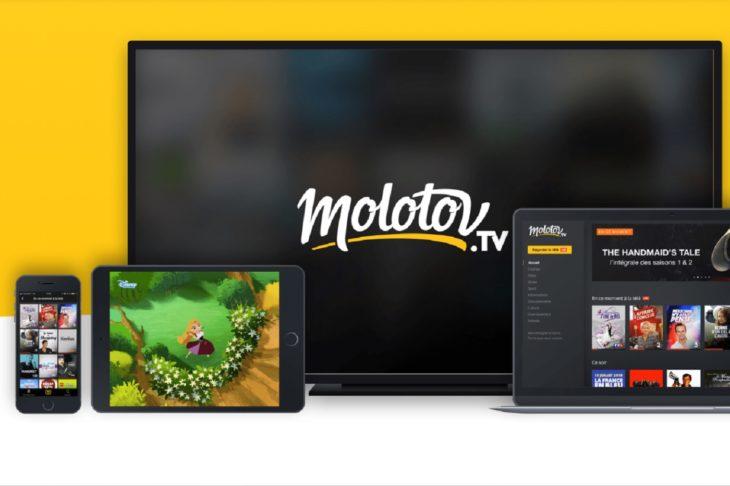 Molotov offre une cinquantaine de chaînes gratuitement