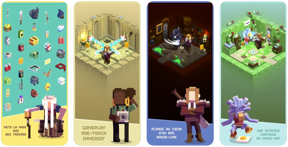 tiny tomb - Jeu du jour : Tiny Tomb : Dungeon Explorer (iPhone & iPad - gratuit)