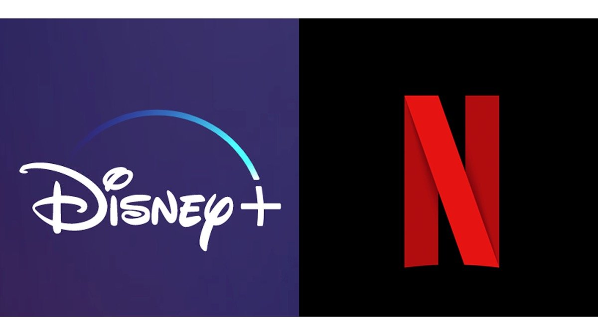 Disney Plus vs Netflix Logos - De faux sites Netflix et Disney + tentent de vous arnaquer
