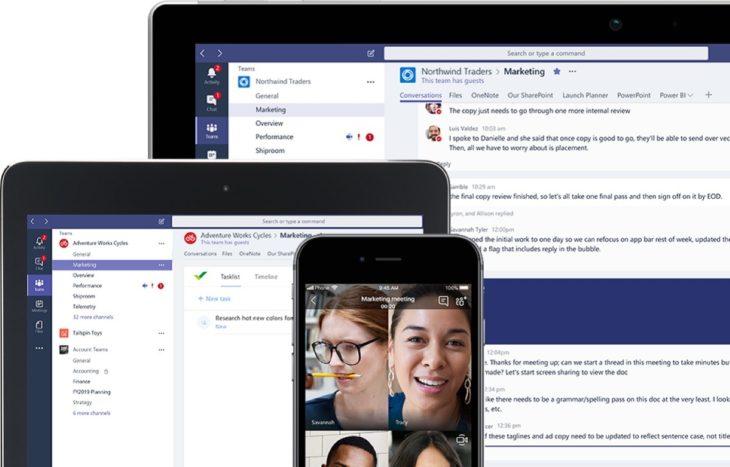Microsoft Teams : le nombre d'appels vidéo a bondi de 1000%