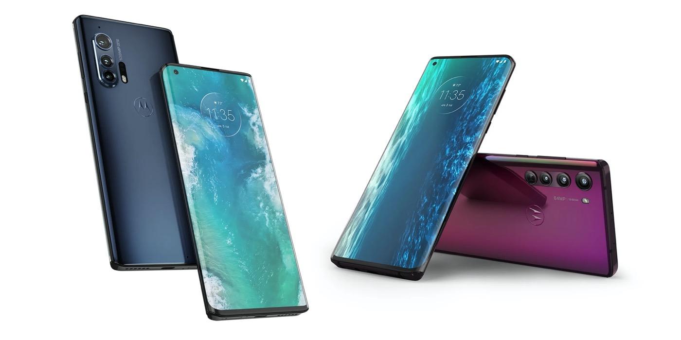 Motorola Edge Plus Avant Arriere - Motorola Edge et Edge + : deux nouveaux smartphones hauts de gamme et borderless