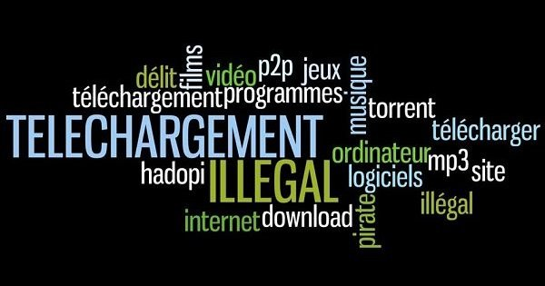 telechargement illegal vpn - Le téléchargement illégal de films et séries en forte augmentation