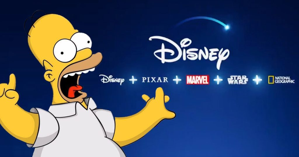 vpn disney simpsons 1024x538 - Comment regarder Disney+ avec un VPN en 2020 ?