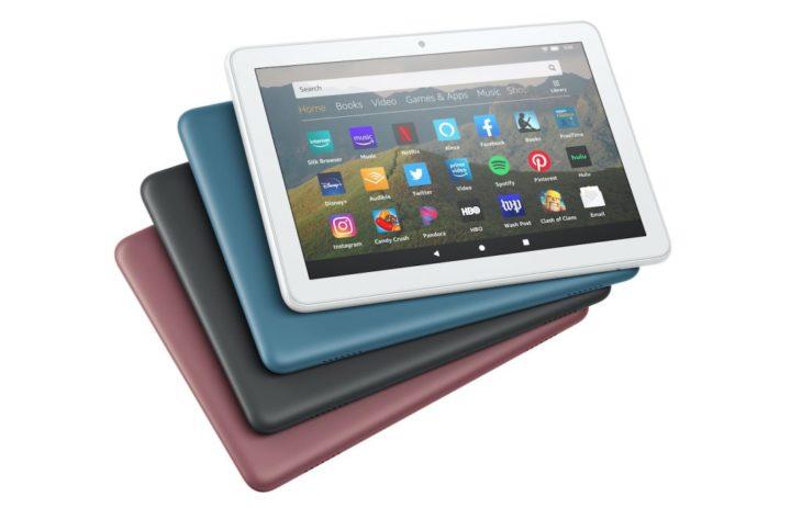 Amazon lance une nouvelle tablette Fire 8 HD, plus puissante et plus autonome
