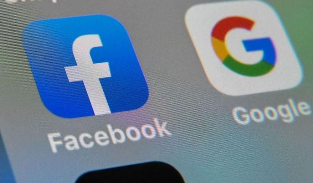 Facebook Google Logos Icones e1589104501623 - Facebook et Google prolongent le télétravail jusqu'en 2021