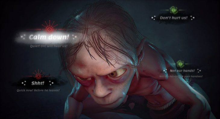 Gollum n'a jamais été aussi laid que dans ce nouveau jeu Le Seigneur des Anneaux