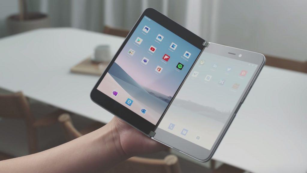Microsoft Surface Duo 1024x576 1 - Microsoft Surface Duo : les caractéristiques du smartphone à deux écrans en détail