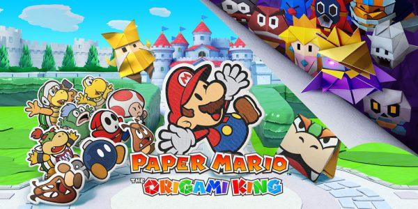 Paper Mario : The Origami King débarque sur Nintendo Switch cet été