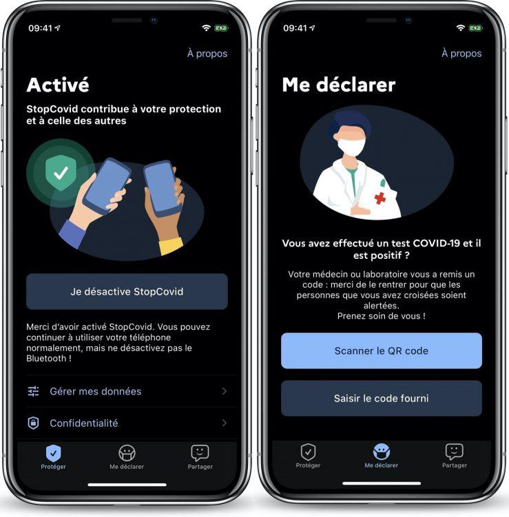 StopCovid Application iPhone 2 739x751 1 - StopCovid : les premières captures d'écran révélées
