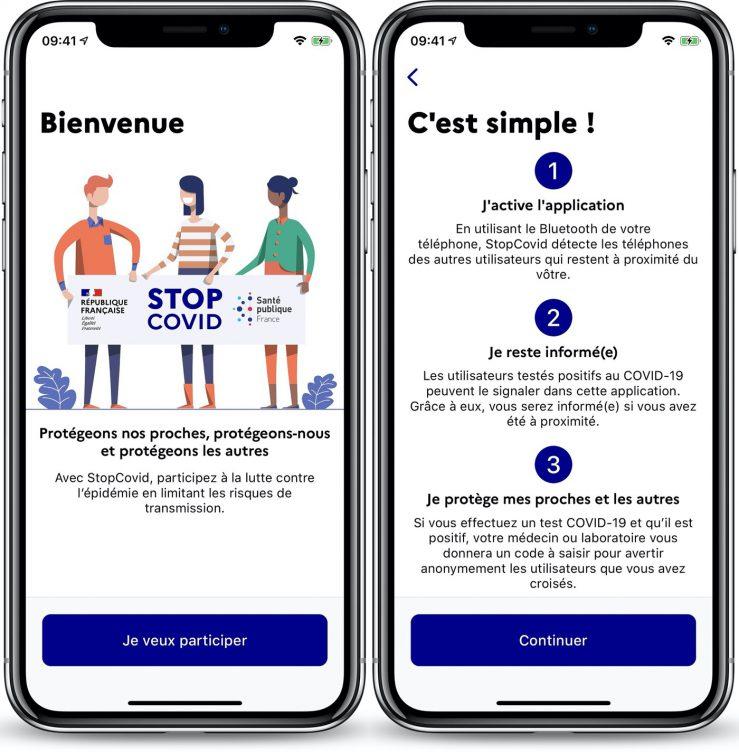 StopCovid Application iPhone 739x752 1 - StopCovid : les premières captures d'écran révélées