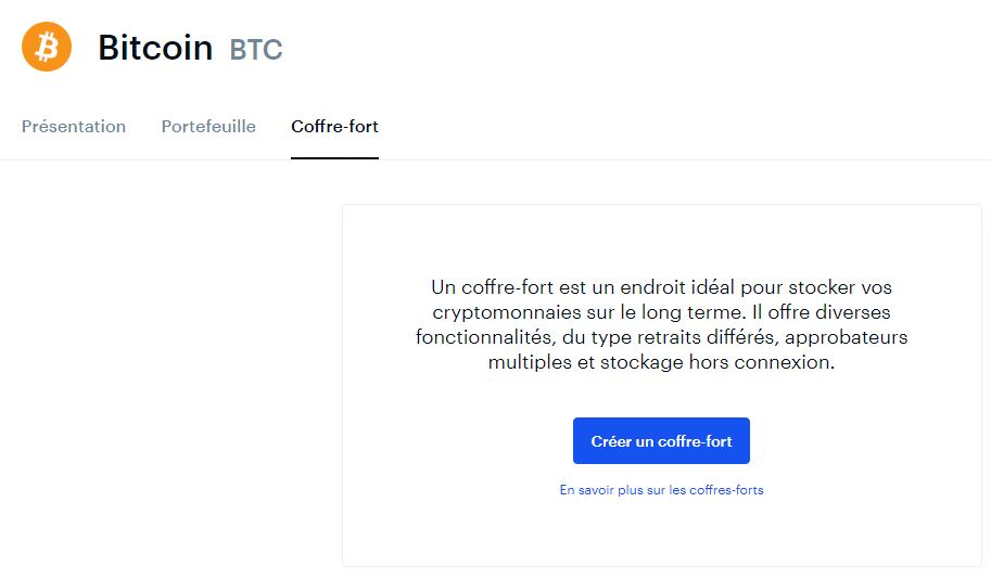 coinbase coffre fort bitcoin - Tutoriel Coinbase : acheter des cryptomonnaies (Bitcoin, Ethereum, ...)