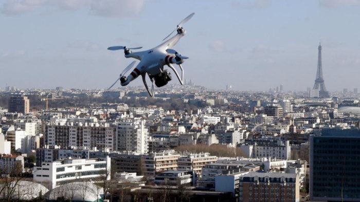 Les drones ne pourront plus surveiller les Parisiens