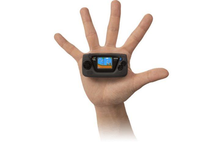 Sega dévoile la Game Gear Micro, une toute petite console portable