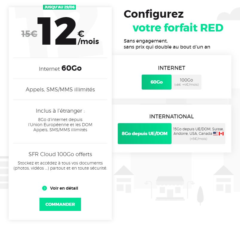 Forfait RED : tous les forfaits RED by SFR