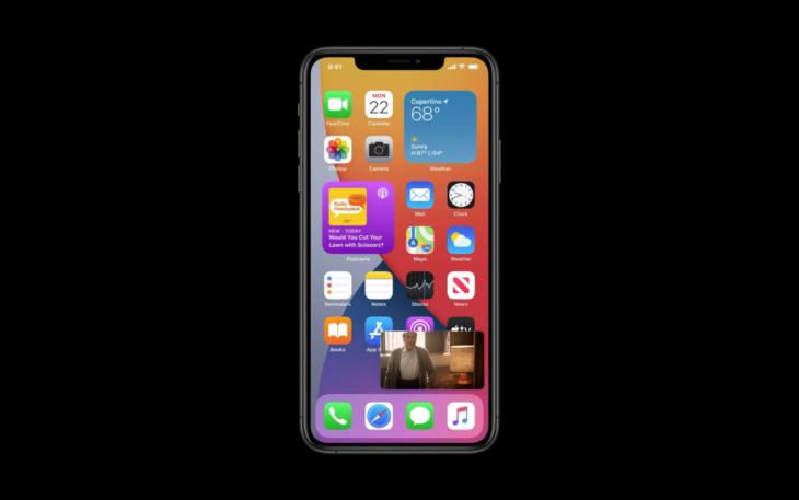 iOS 14 est installé sur 80% des iPhone et 70% des iPad