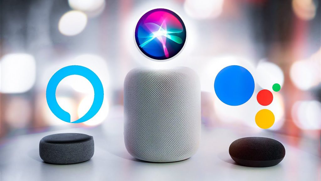 Alexa vs Siri vs Google Assistsant 1024x576 1 - L'Europe enquête sur les assistants vocaux (Siri, Alexa, Google Assistant)