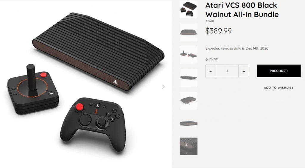 Atari VCS Bundle 1024x563 1 - Atari VCS : la console rétro aux 100 jeux qui coûte 389 dollars !