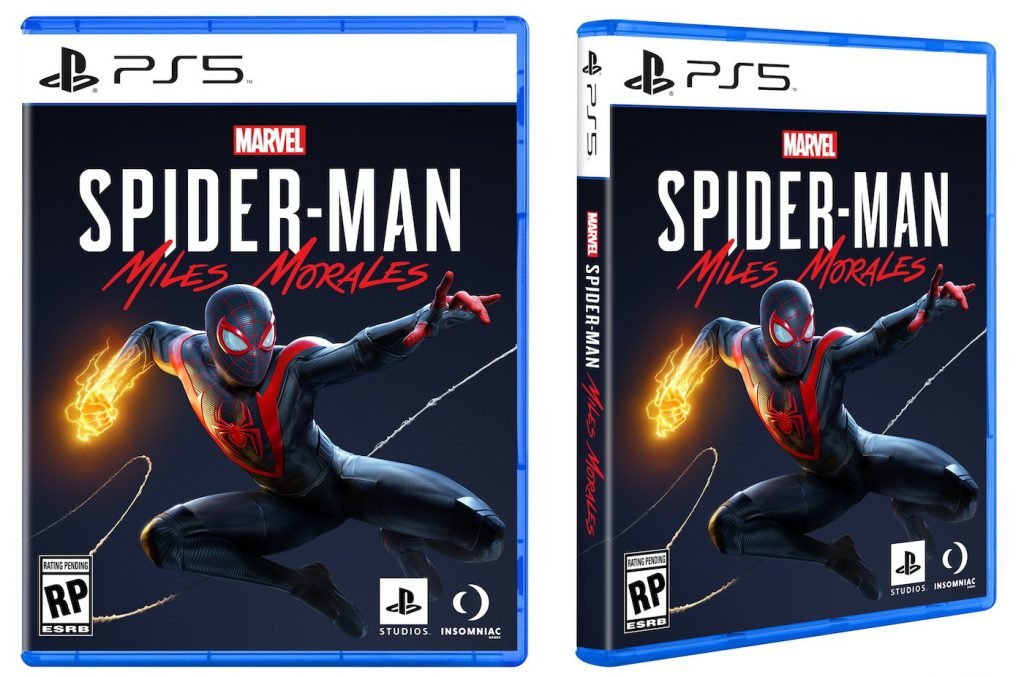 Spider-Man Miles Morales révèle la cover de sa jaquette