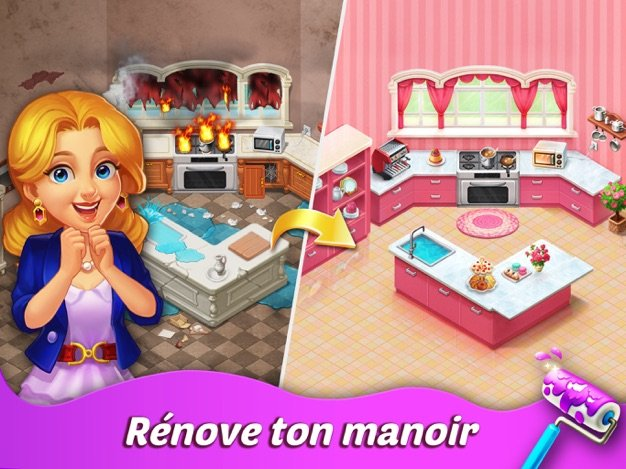 Jeu du jour : Matchington Mansion (iPhone & iPad – gratuit)