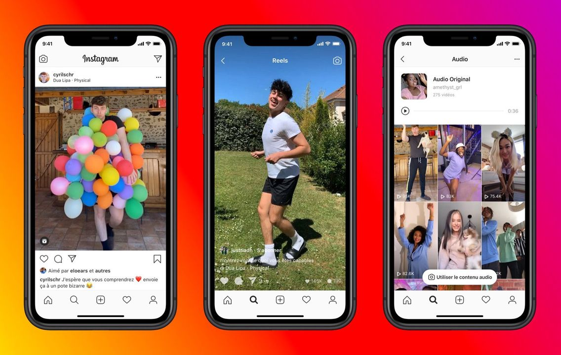 1136 instagram reels - Facebook lance «Reels», son concurrent de TikTok, sur Instagram