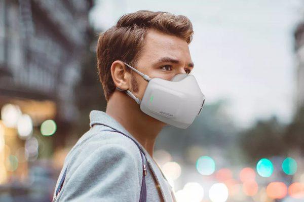 LG révèle un masque avec purificateur d'air intégré