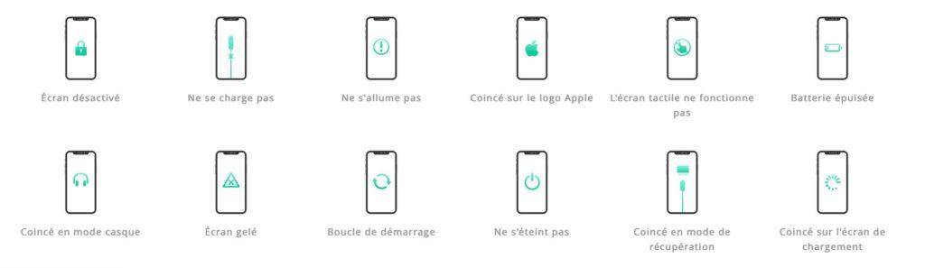 AnyFix : réparer iOS (iPhone), iPadOS, tvOS, les erreurs iTunes...