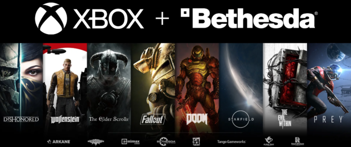 Xbox : Microsoft rachète Bethesda (The Elder Scrolls, Doom, Fallout, Dishonored...)