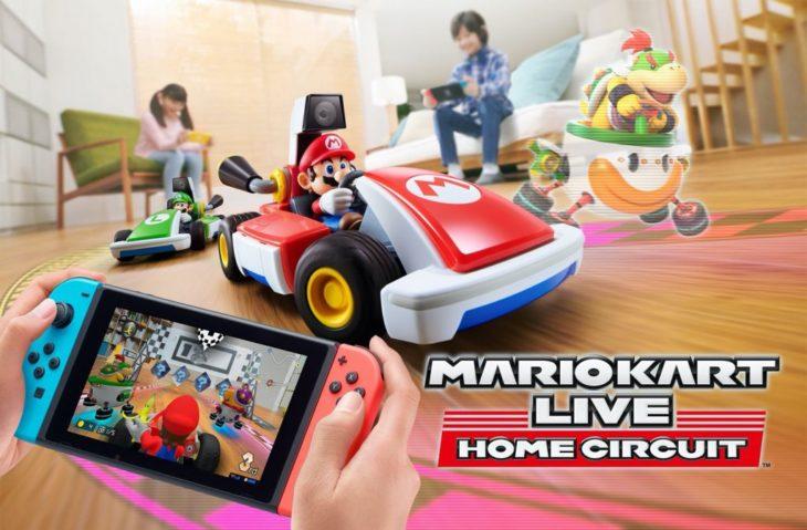 Mario Kart transposé dans votre salon avec Mario Kart Live : Home Circuit