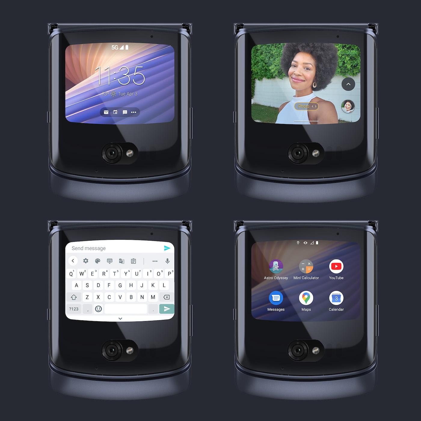 Motorola annonce son nouveau smartphone pliant Razr