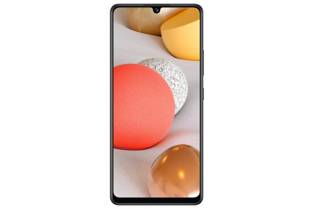 Samsung Galaxy A42 5G 1024x682 1 - Samsung dévoile un smartphone, une tablette, un bracelet, et un équivalent au AirPower