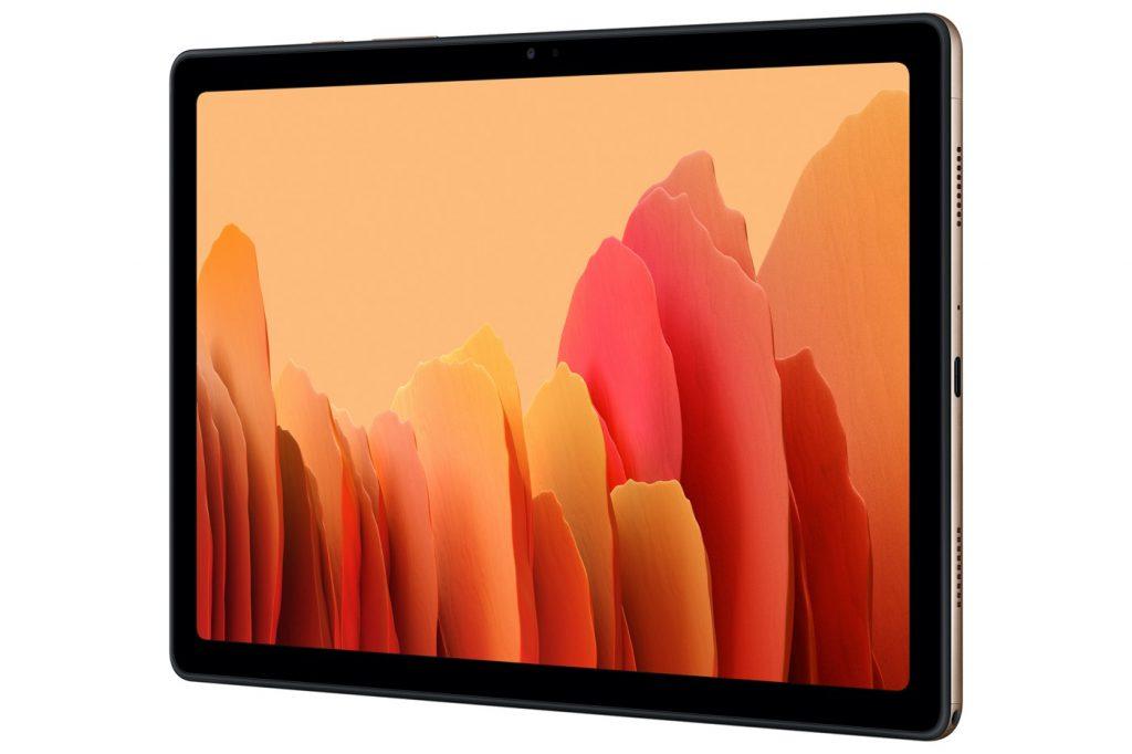 Samsung Galaxy Tab A7 1024x682 1 - Samsung dévoile un smartphone, une tablette, un bracelet, et un équivalent au AirPower