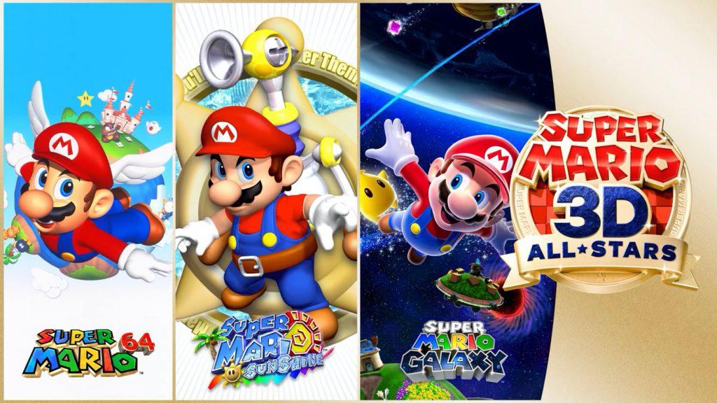 Super Mario 3D All Stars 1024x576 1 - Nintendo Switch : Super Mario 64, Sunshine et Galaxy arrivent dans une compilation (sans intérêt)