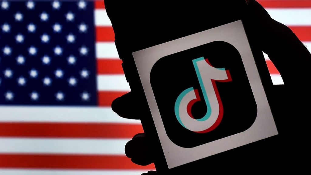 TikTok Logo Drapeau Americain 1024x576 1 - TikTok : les États-Unis insistent sur leur droit d'interdire l'app