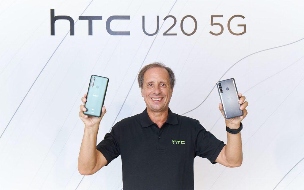 Le PDG français de HTC démissionne après moins d'un an aux commandes