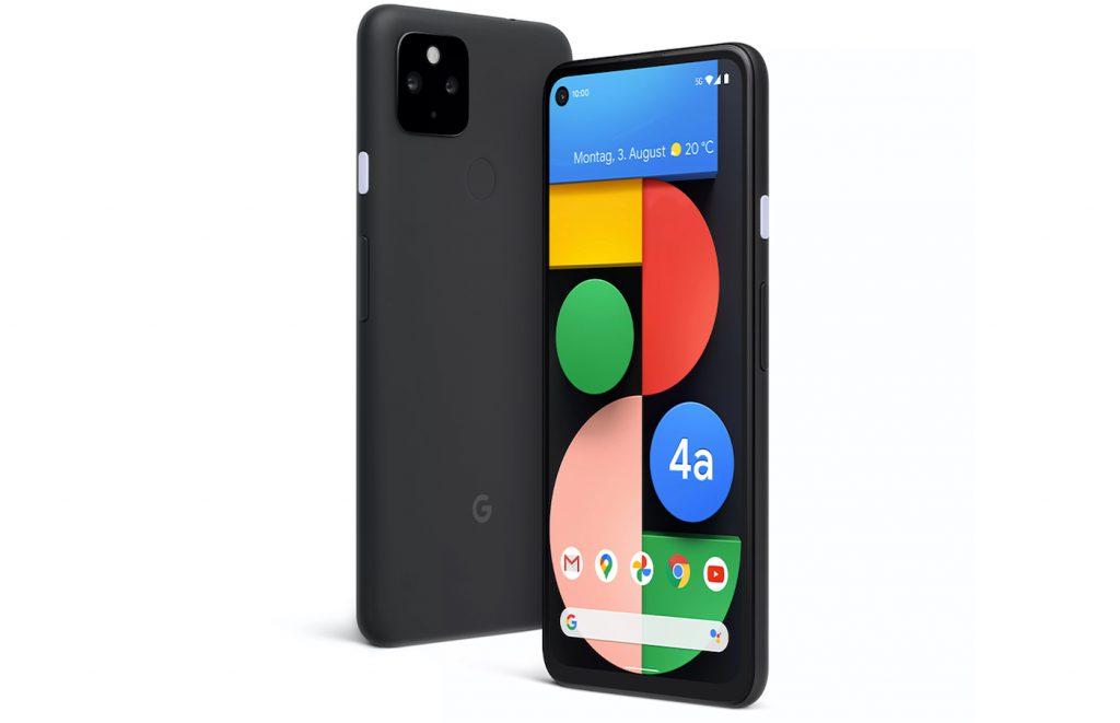 Google dévoile les Pixel 5 et Pixel 4a 5G
