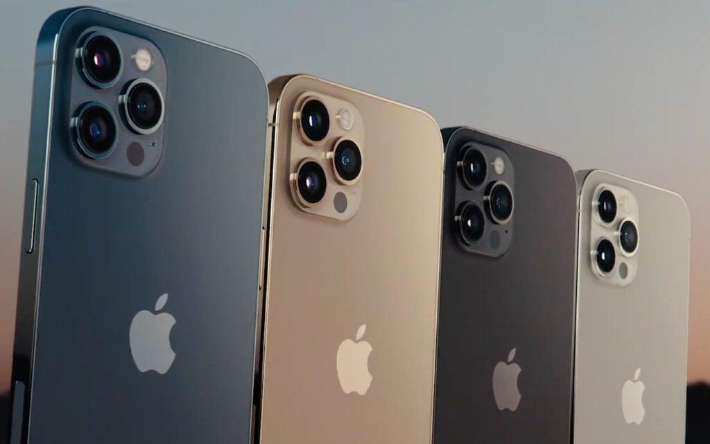 coloris iphone 12 pro 1024x641 - iPhone 12 : tout savoir sur les modèles Mini, standard et Pro (prix, design, sortie...)