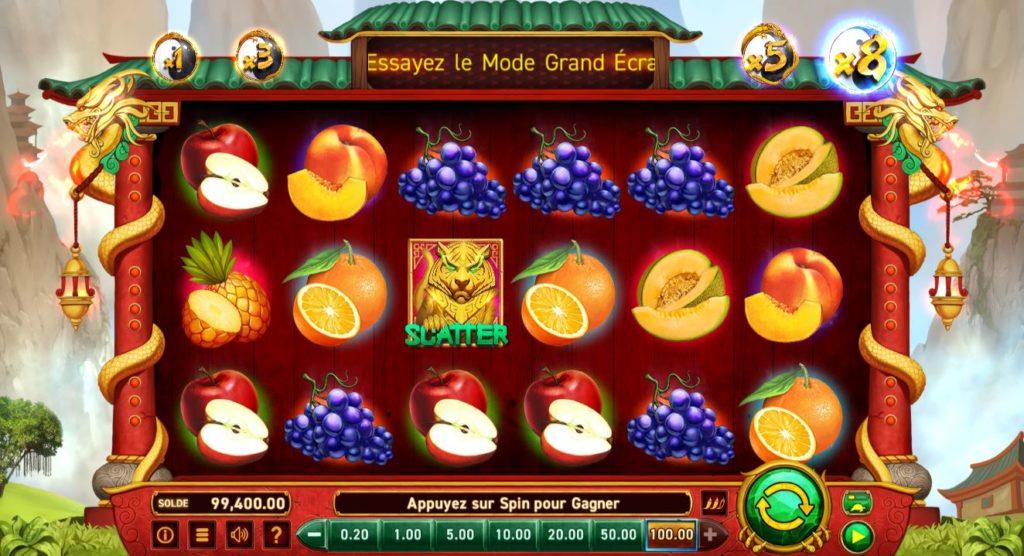 Dragons Lucky 8 : une machine à sous amusante disponible sur mobile