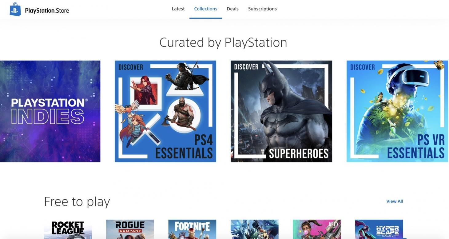 psstore - Playstation 5 : le nouveau PS Store a-t-il fuité en photo ?