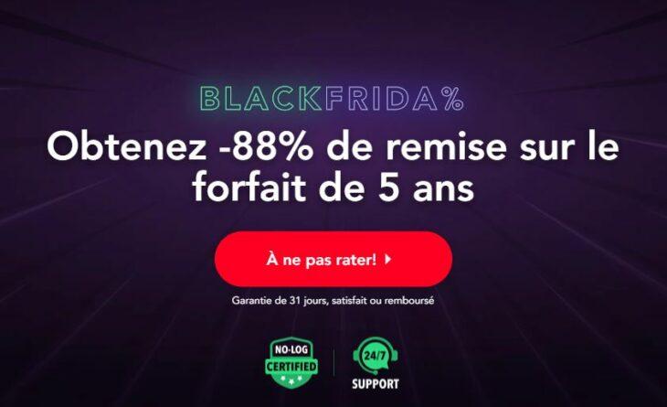 Black Friday : PureVPN propose jusqu'à 88% de réduction !