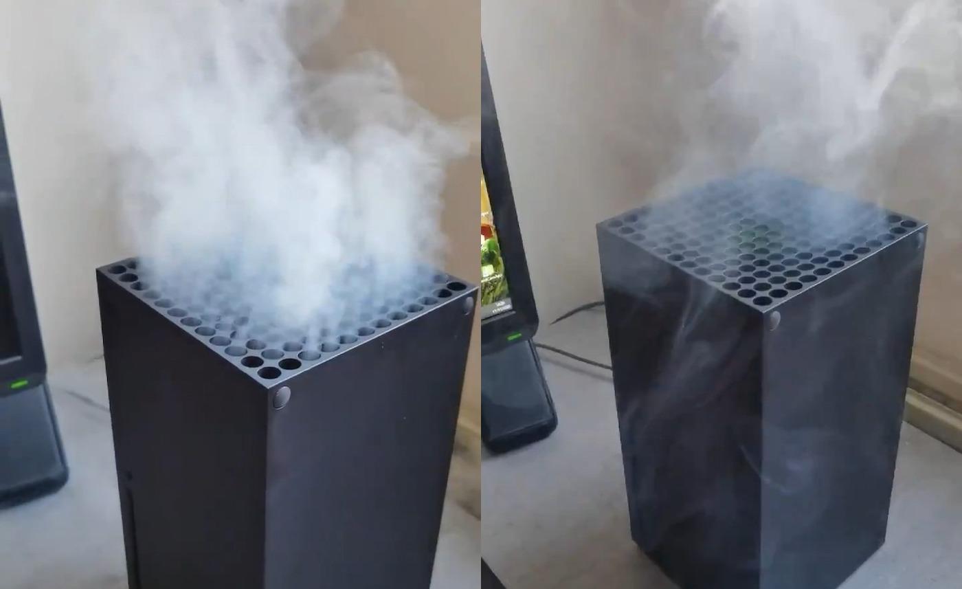 """Microsoft réagit aux Xbox Series X """"fumantes"""""""