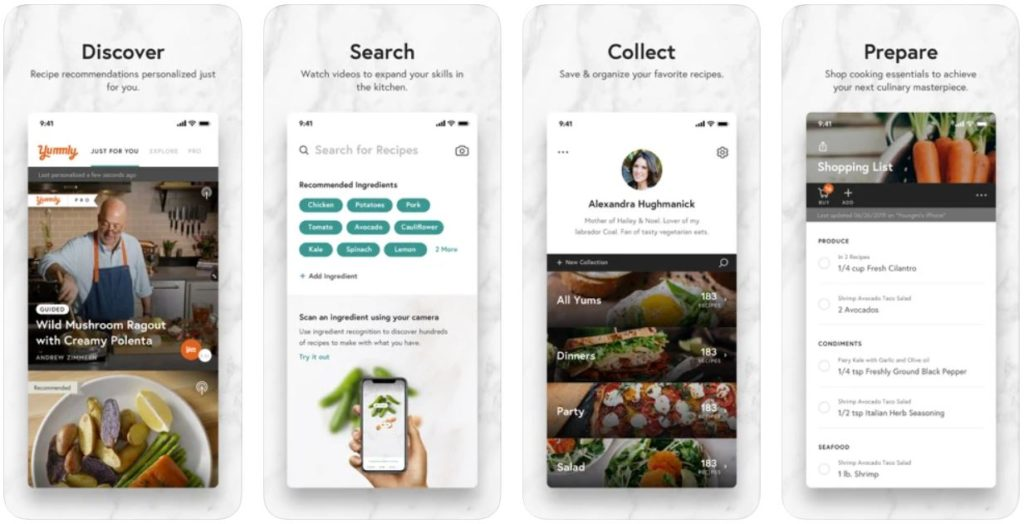 Yummly : votre nouveau partenaire cuisine sur iPhone & ipad