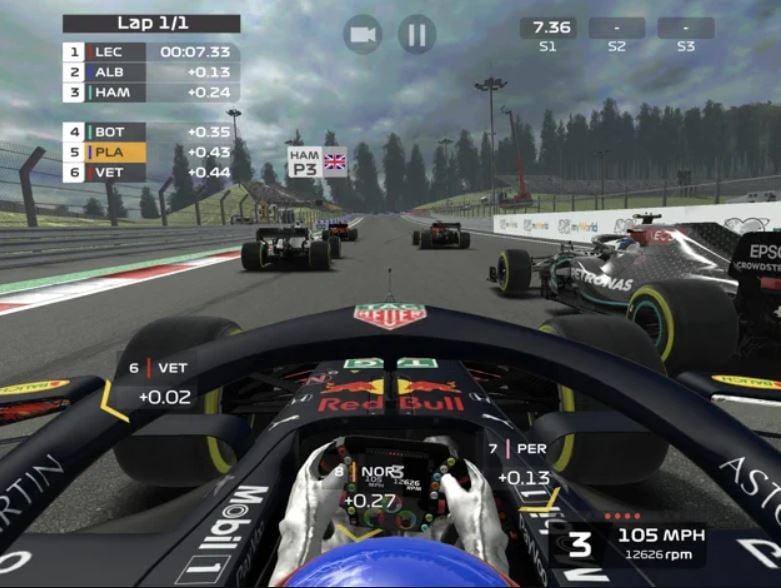 Jeu du jour : F1 Mobile Racing (iPhone & iPad - gratuit)