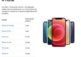 Apple Store : les dates butoirs pour avoir son iPhone, son Mac ou son iPad livré pour Noël