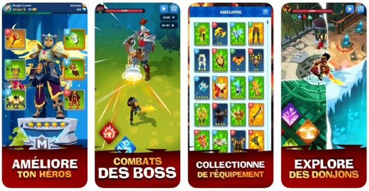 Jeu du jour : Mighty Quest For Epic Loot RPG (iPhone & iPad – gratuit)