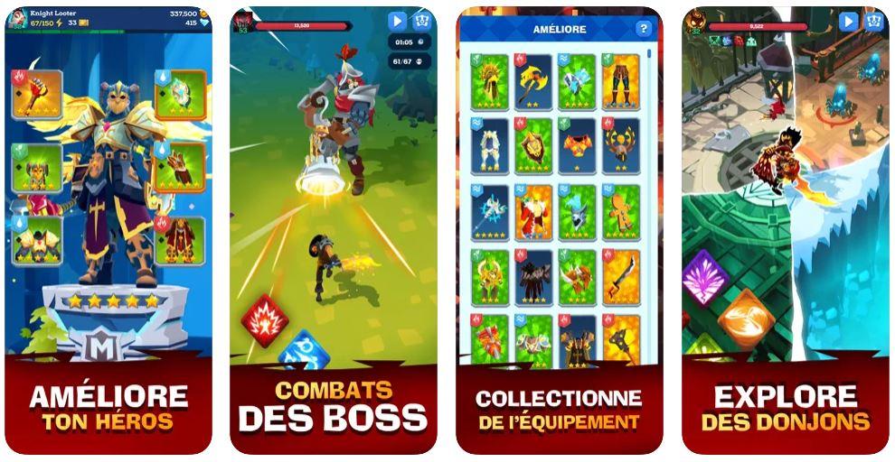 Jeu du jour : Mighty Quest For Epic Loot RPG (iPhone & iPad - gratuit)