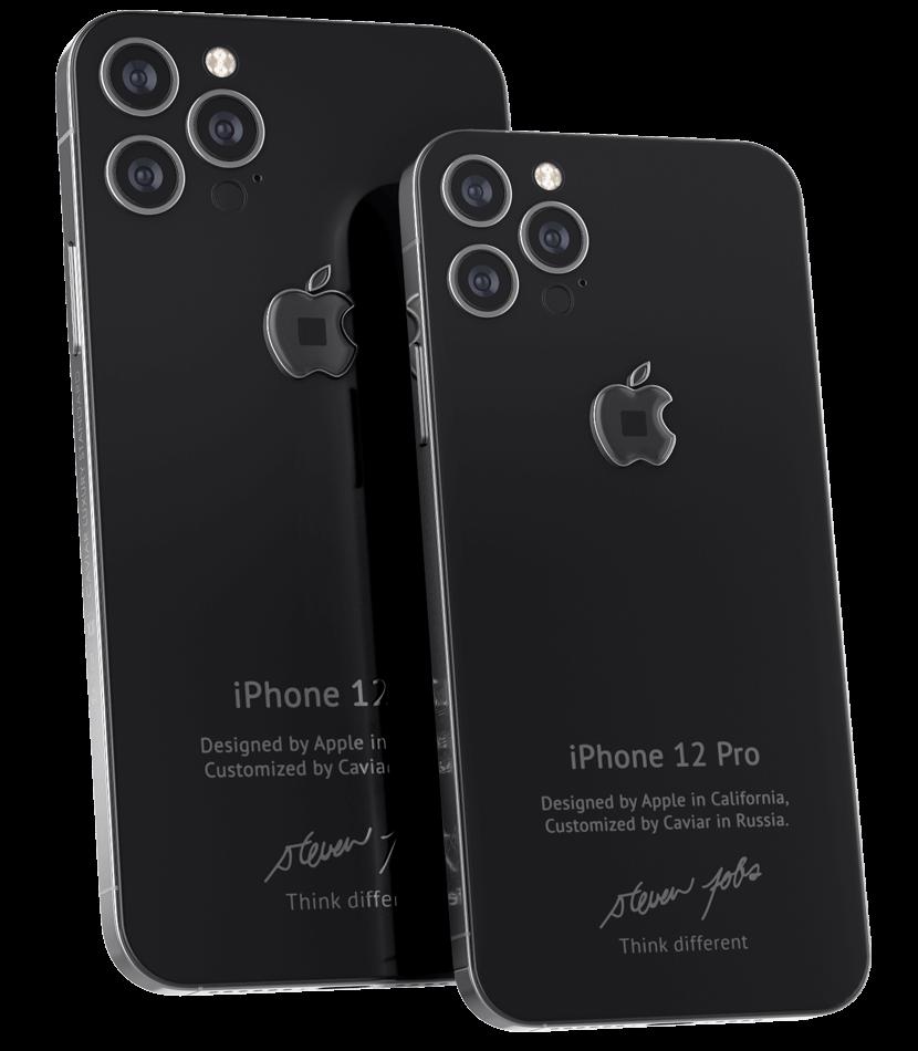Caviar sort un iPhone 12 Pro édition Steve Jobs à 6500$