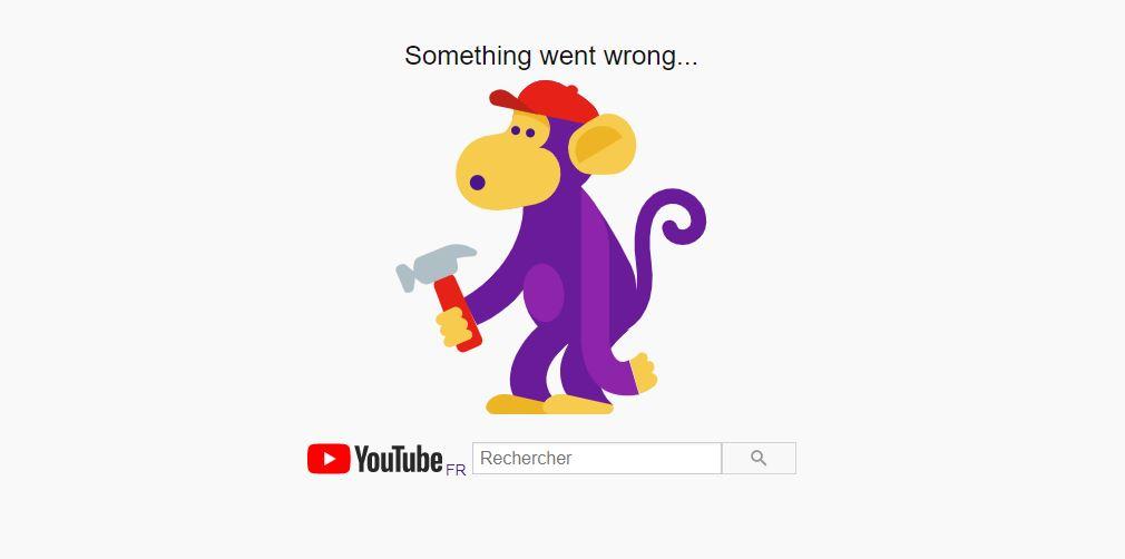 Google semble subir une panne mondial (YouTube, Gmail, Drive...)