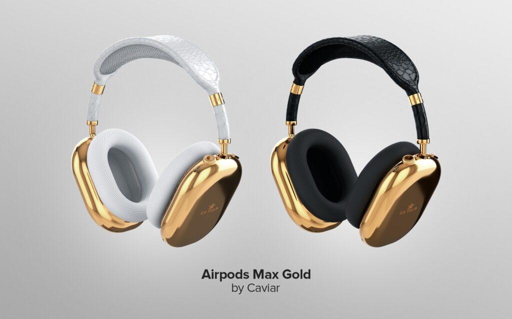 Caviar dévoile des AirPods Max de luxe pour 97.500 €