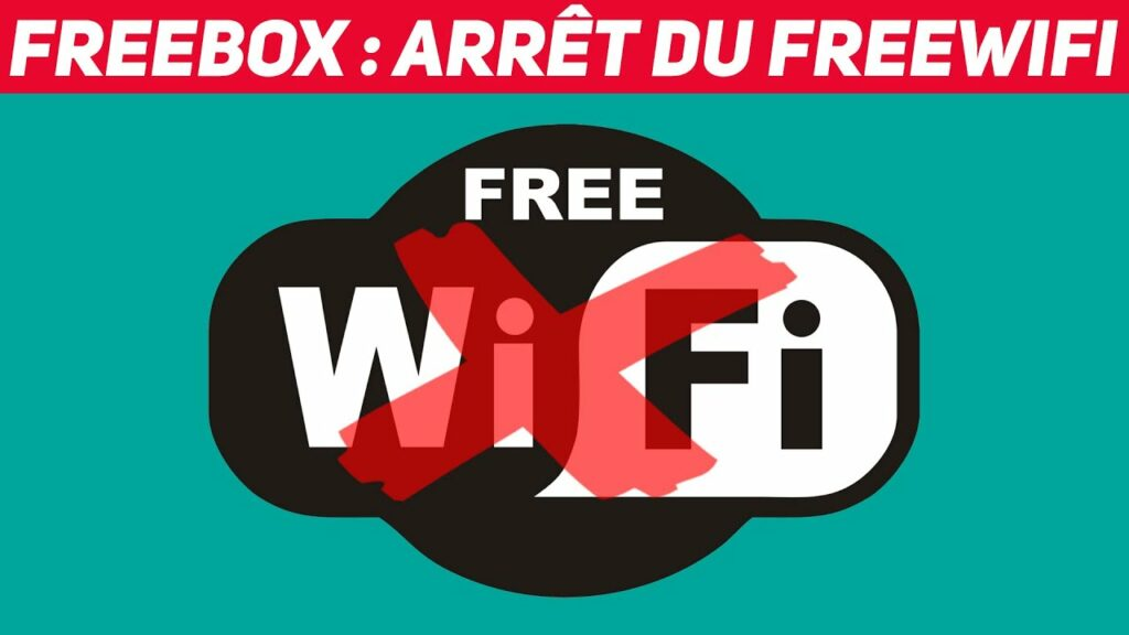 Fin du réseau communautaire Free Wifi