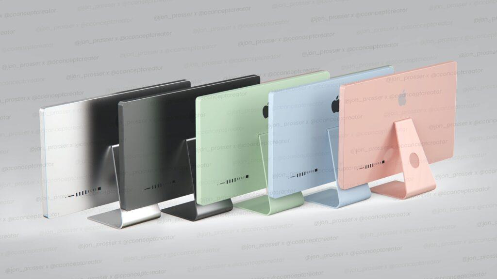 L'iMac 2021 aurait les mêmes coloris que l'iPad Air